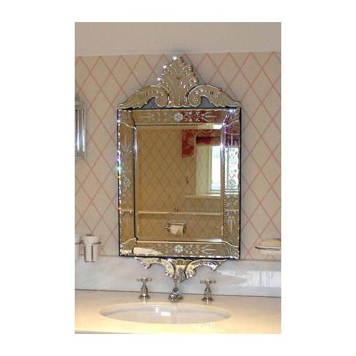 Atlanta Venetian Mirror Bathroom Venetian Mirror And Besine Silver