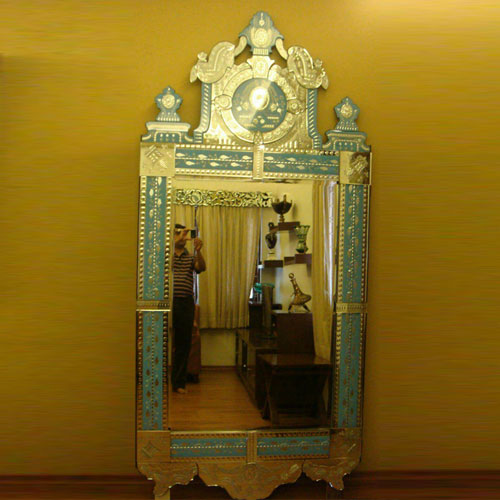 Light Blue Venetian Mirror - VM44