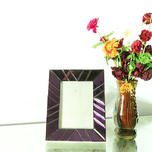 Purpel Glass Photo Frame - PF14