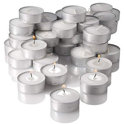 Round Tea Light Candles - TLH09