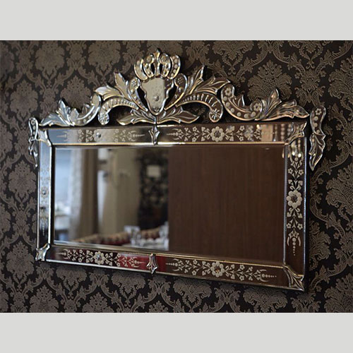 Small Horizontal Venetian Mirror - VM58