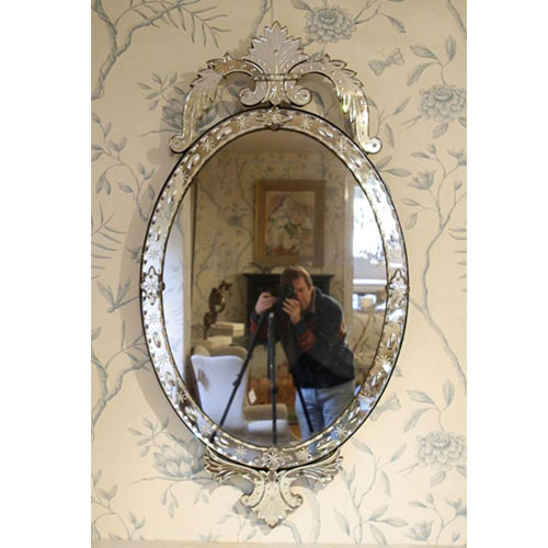 Oval Shape Small Mirror - SM06