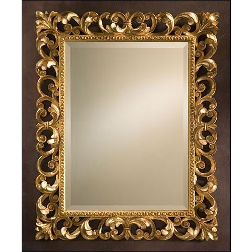 Wooden Frame Mirror Wood Carved Mirror Wooden Frame