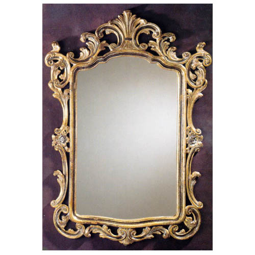 Wooden Frame Mirror - Wood Carved Mirror, Wooden Frame